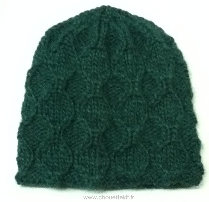 3bdebea886df Bonnet au tricot du kit n°3 (Tuto Cadeau) - Chouette Kit