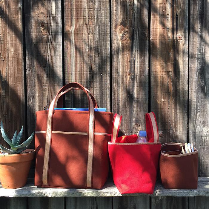 3 sacs 3 tailles