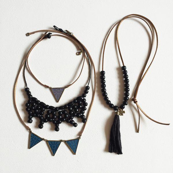 Kit colliers A&V - Noir