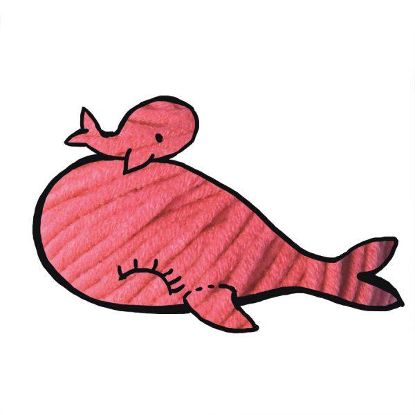 kit Baleine - crochet ou tricot melon