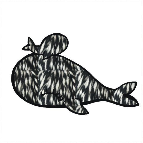 kit Baleine - crochet ou tricot chiné