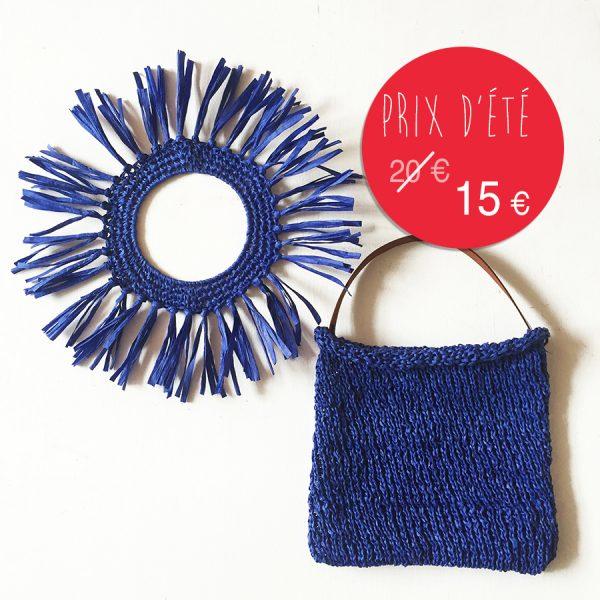 kit papier découverte - bleu