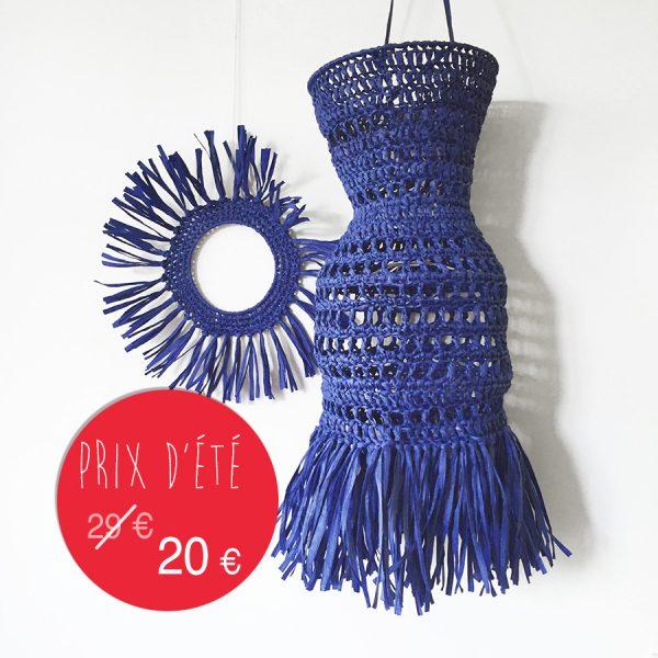 kit papier - Déco - bleu méditerranée