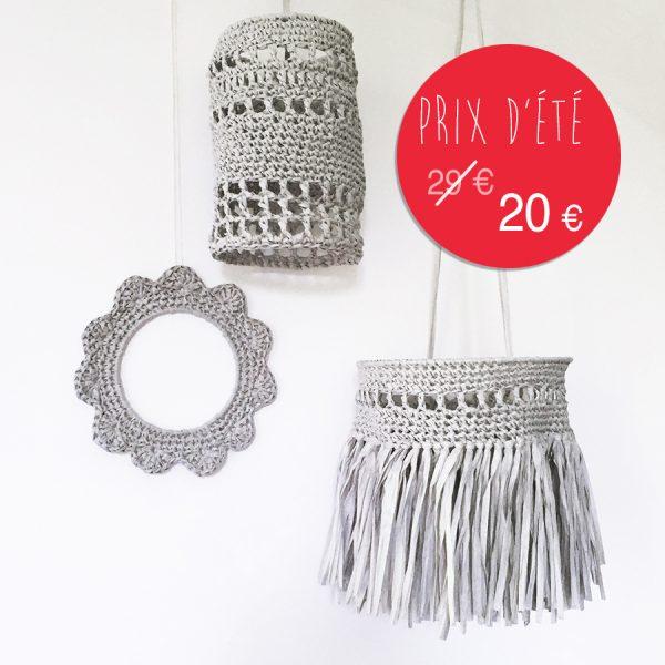 kit papier - Déco - gris perle