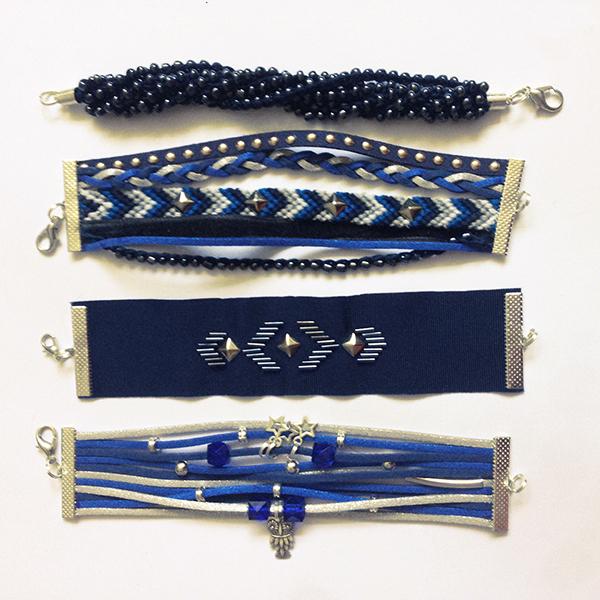 Kit bracelets Manchettes Eugénie II