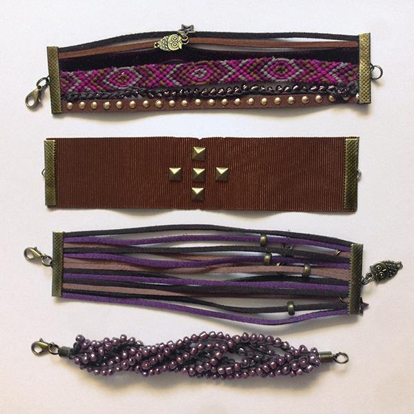 Kit bracelets manchettes Josephine