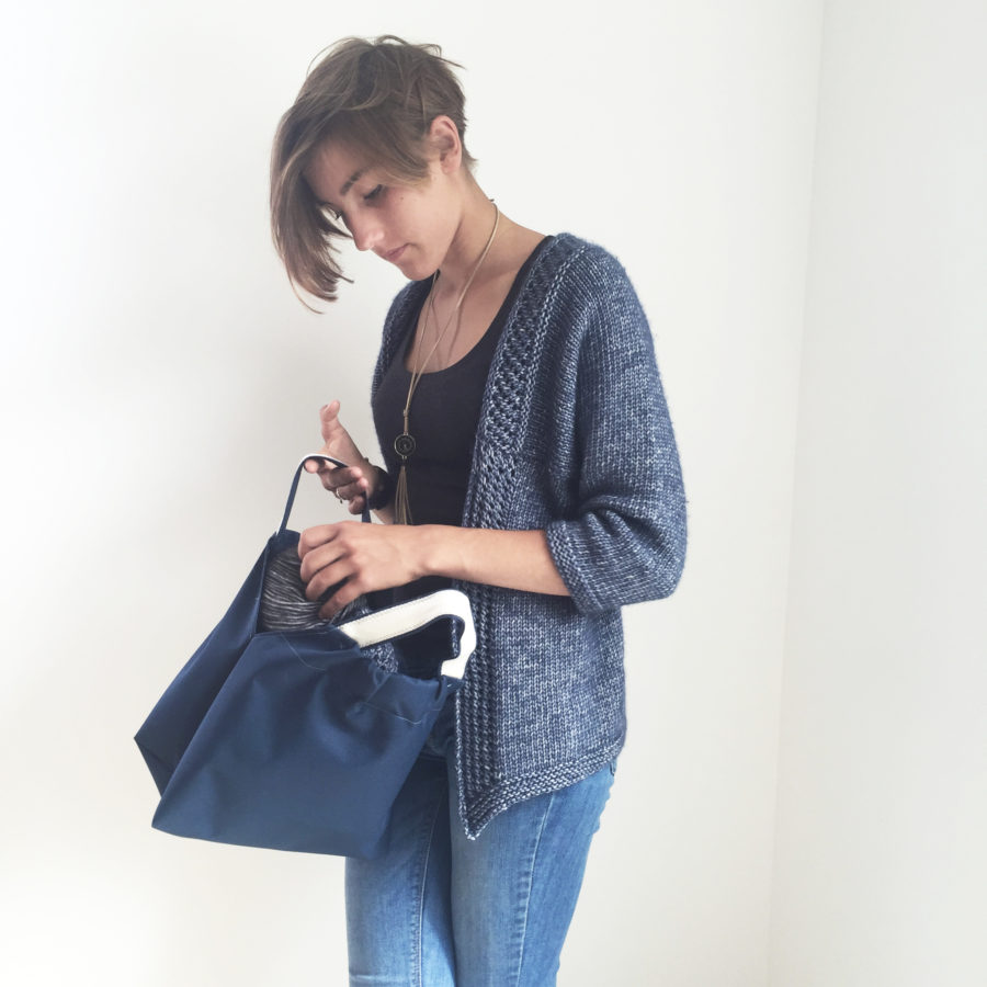 kit chouette sac couture