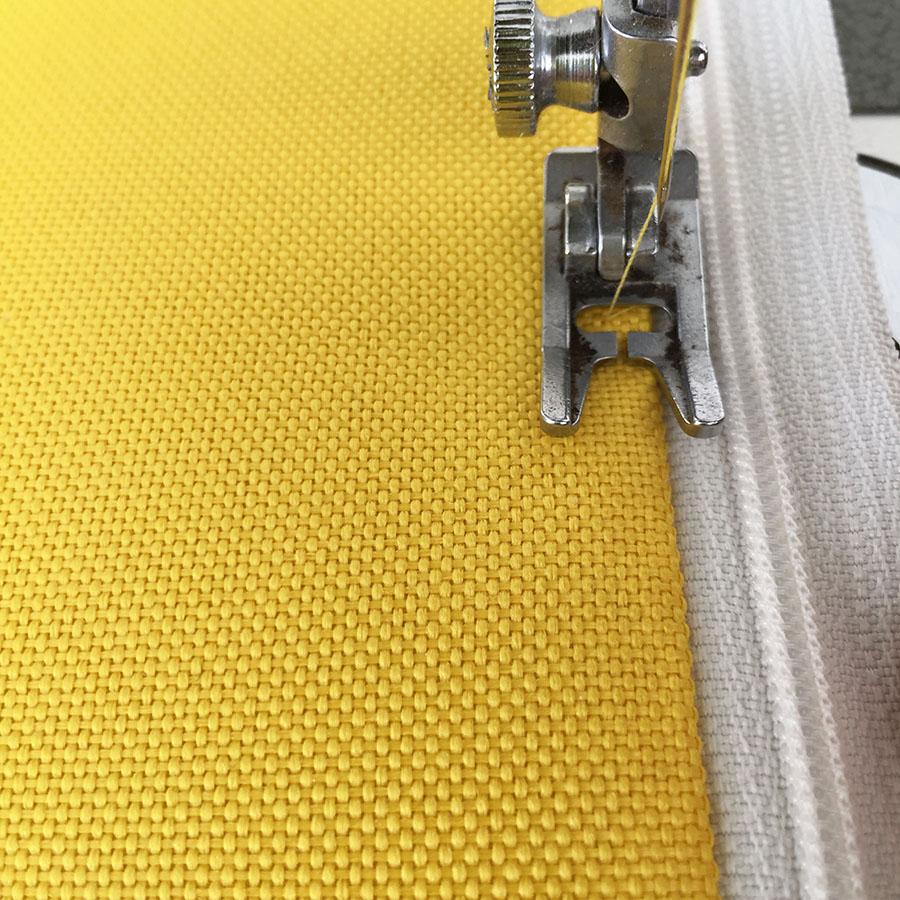 sac-a-dos toile jaune 900