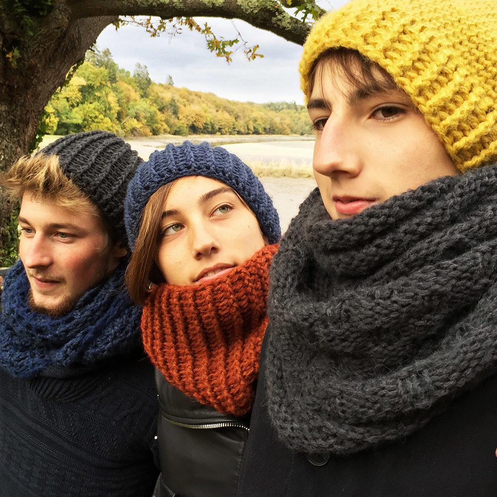 Chouette kit love me doux 3 Nous avons imaginé ces kits LoveMeDoux – crochet  et tricot – pour réaliser de quoi envelopper ... a43f787904f
