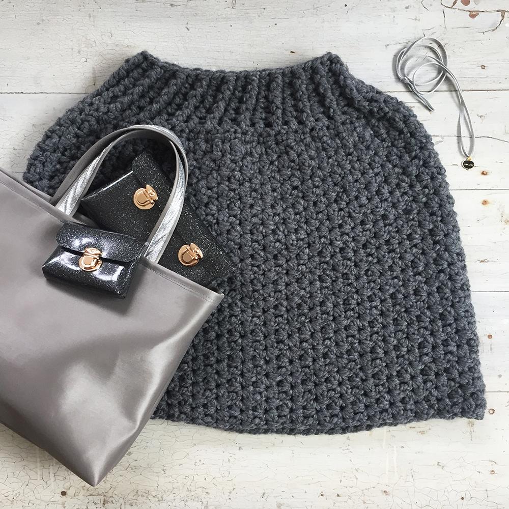 kit crochet poncho kit couture sac et pochette