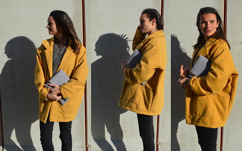 manteau 3 jaune