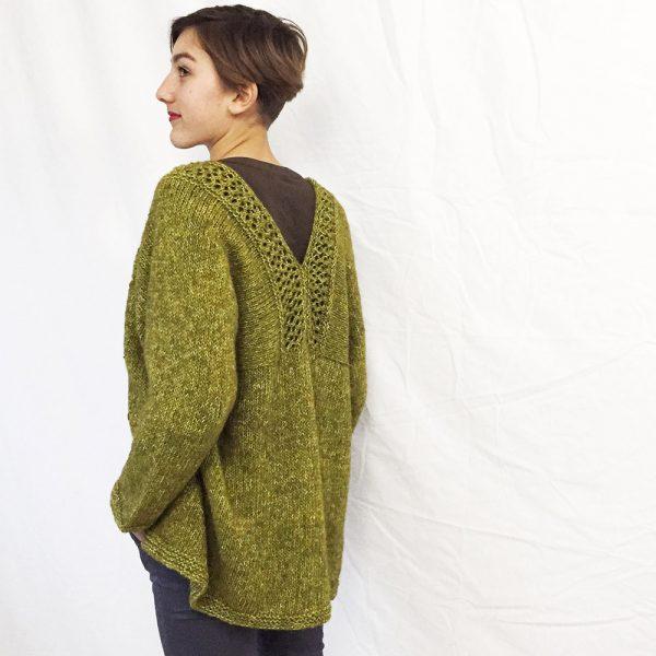 Kit gilet Alice Mousse - tricot ou crochet