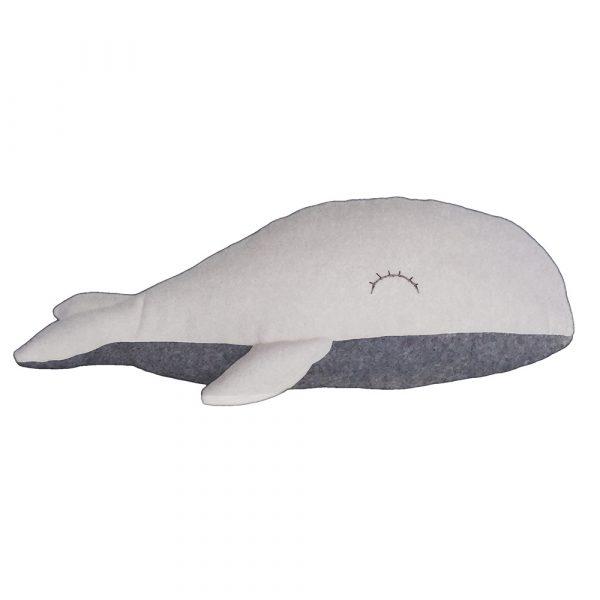 Kit Baleine couture - gris clair et écru