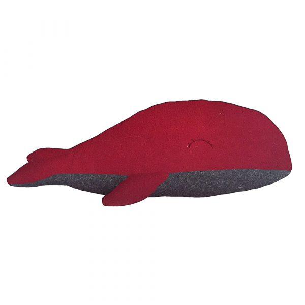 Kit Baleine couture - rouge et gris foncé