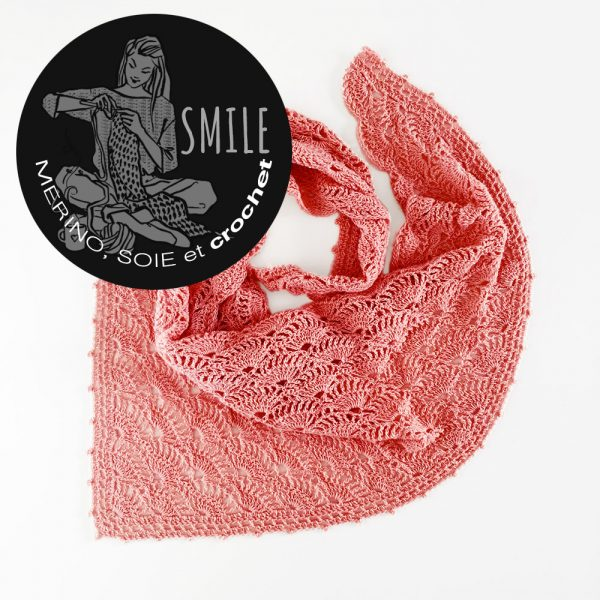 Kit pointe Agave Blush - crochet