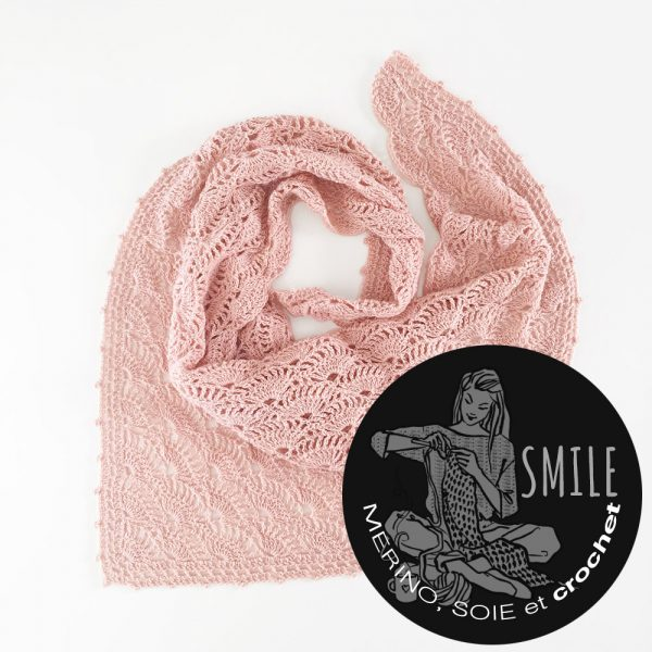 Kit pointe Agave Poudre - crochet