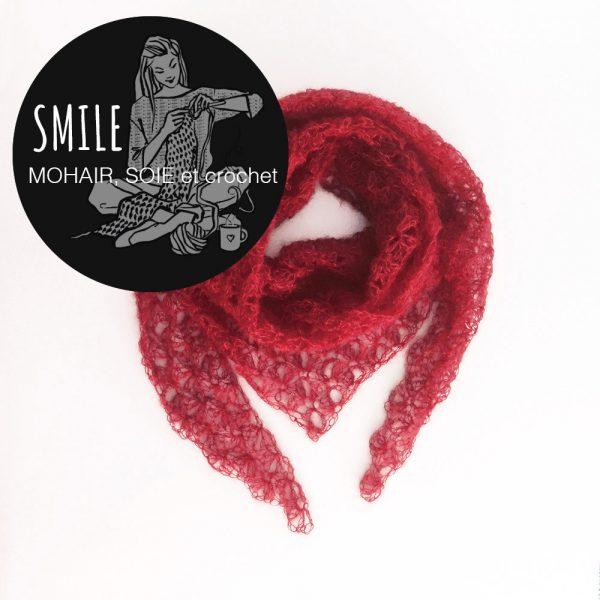 Kit pointe Origami Rouge - crochet