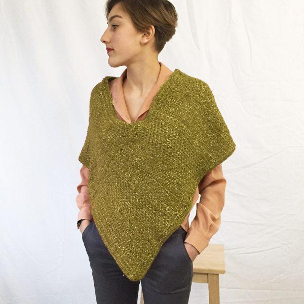 Kit poncho Mousse - tricot ou crochet