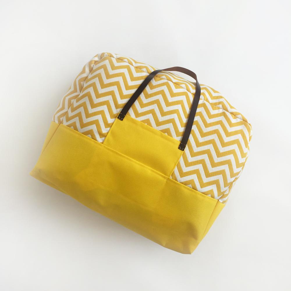 bagage-cabine-jaune-chevrons-1000