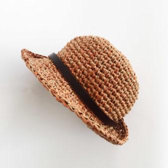 Kit Crochet Chapeau Cannelle