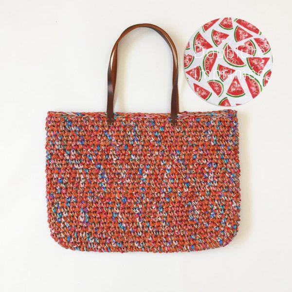Kit Crochet - Panier Grenadine multifils