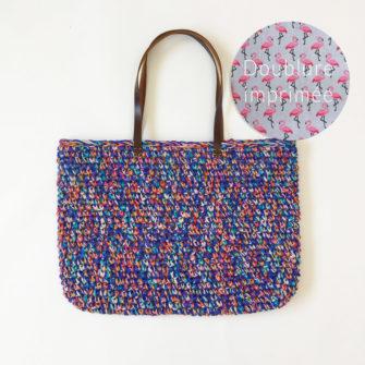 Kit Crochet – Panier Indigo multifils