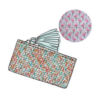 Kit Crochet – Pochette zippée Miami