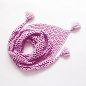 Kit Crochet – Pointe Cyclamen Bise