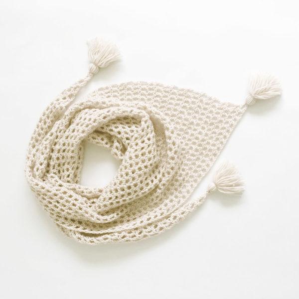Kit Crochet - Pointe crème Bise
