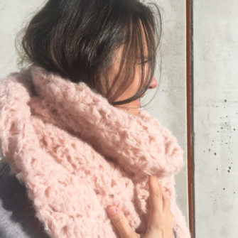 Kit Crochet – Pointe Origami Poudre