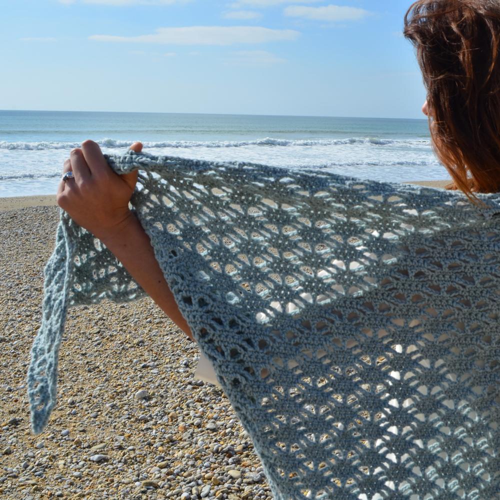 kit crochet-pointe aqua