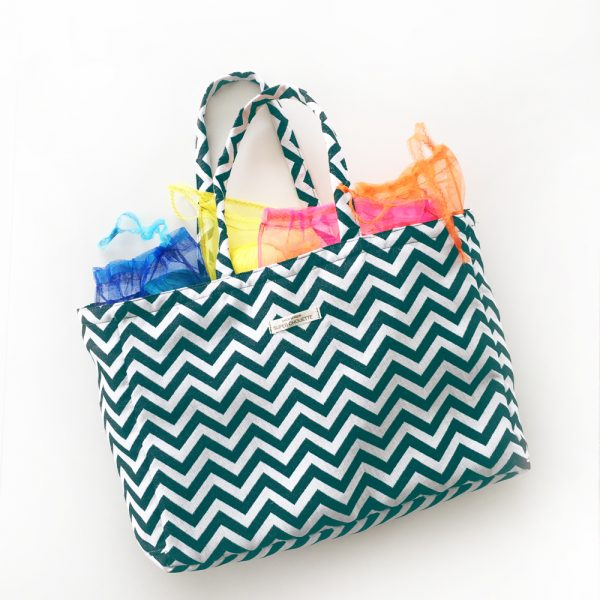 Kit Couture - Shopping bag Bleu Canard