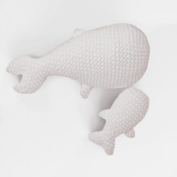 Kit Easy - Mobie et son baleineau blanc