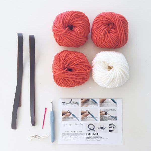 Kit Easy - Sac marinière - Corail