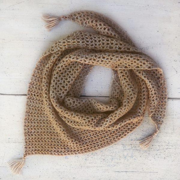 Kit Crochet - Pointe Noisette Bise