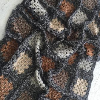 Kit Crochet Blanket Pain brûlé