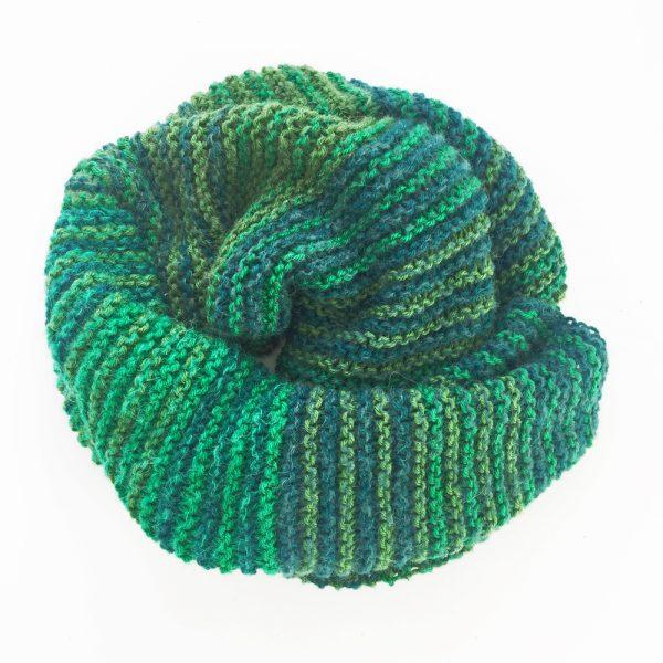Kit tricot - Etole Mille Raies Vert