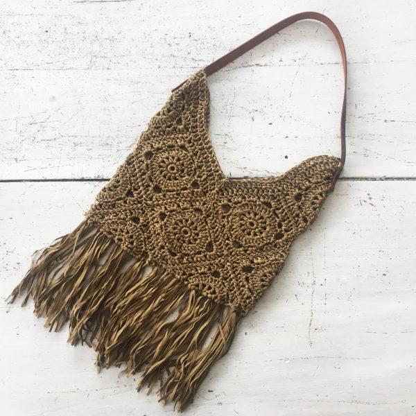 Kit crochet - Sac Granny Bronze