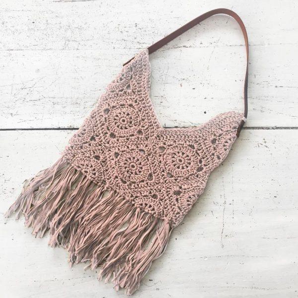 Kit crochet - Sac Granny Poudre