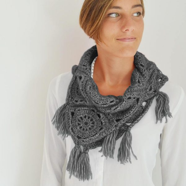 Kit Easy Snood Granny Anthracite
