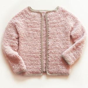 Gilet cintré-kit crochet facile