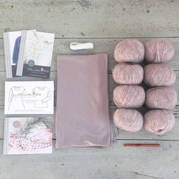 Kit XL Bois de Rose