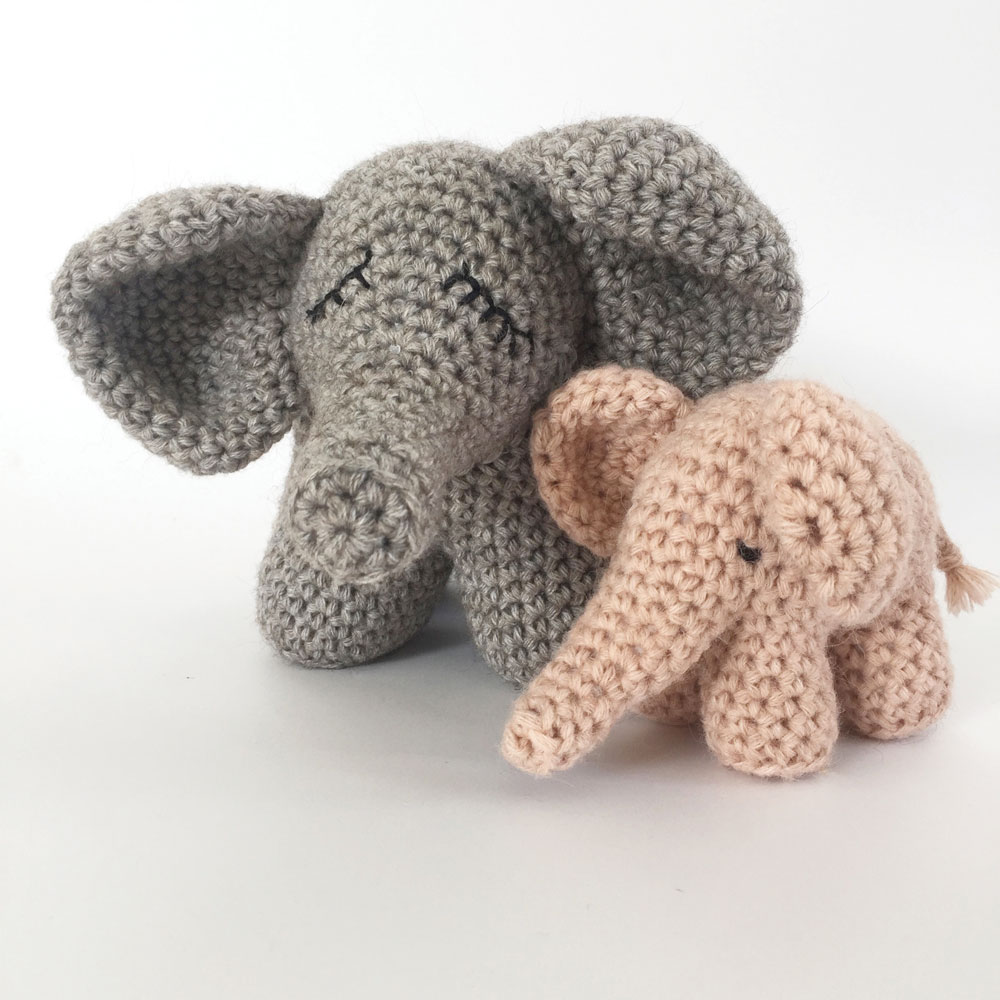 Esther the Elephant Free Amigurumi Pattern | Jess Huff | 1000x1000