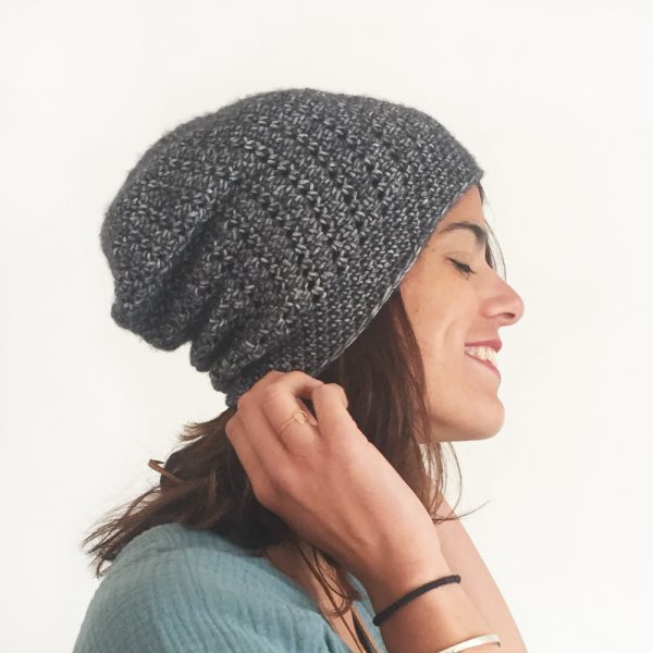 Kit Crochet - Bonnet Slouch - Chouette Kit 512a856a413