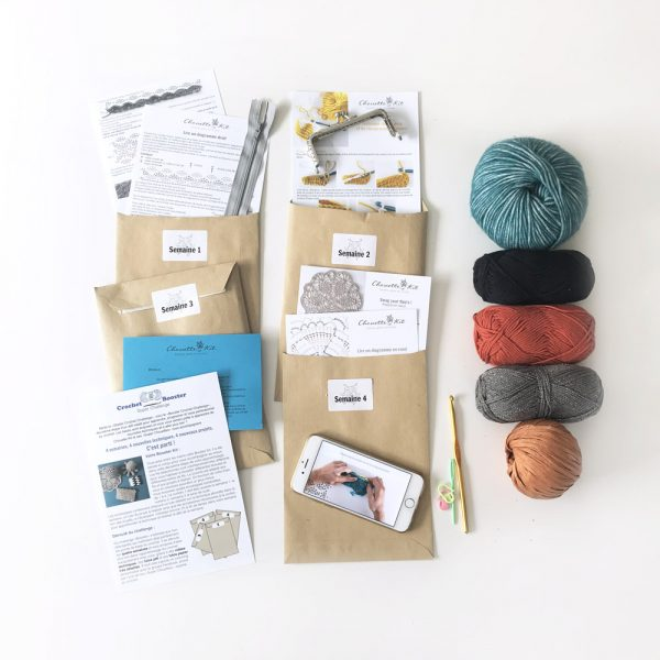 Un kit pour progresser au crochet-contenu