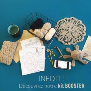 Booster Kit - Kit pour progresser au crochet - Niveau intermédiaire
