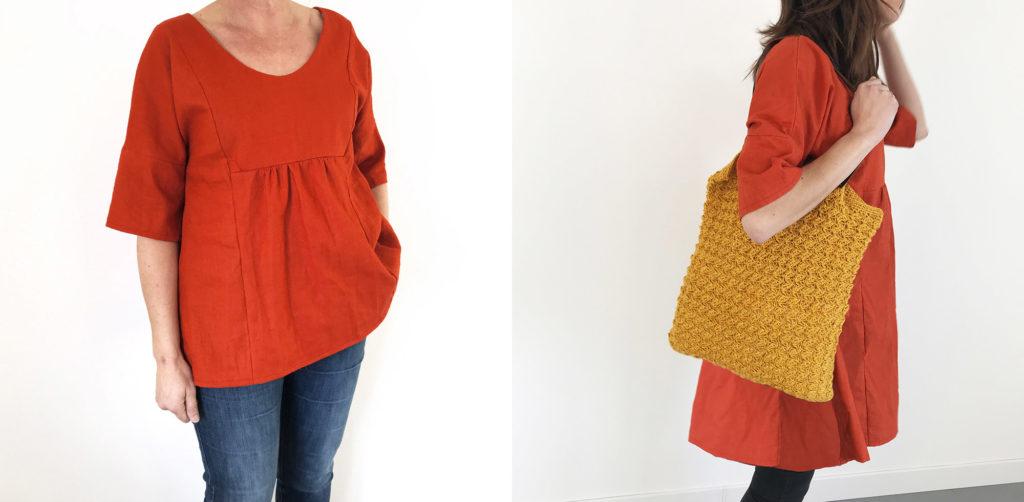 robe+tunique-brique