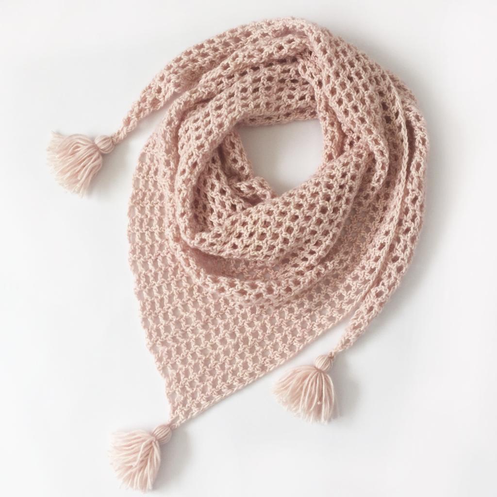 Pointe - Châle facile à réaliser - Kit crochet db0a08c6532e